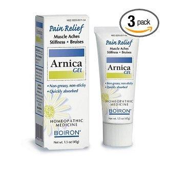 Boiron Arnicare Gel pour les douleurs musculaires, 1,5 onces Tubes (Pack de 3)