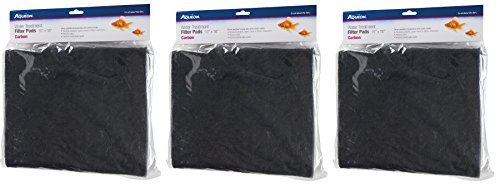 Aqueon Carbon Water Treatment Filter Pads (3 Pack) ()