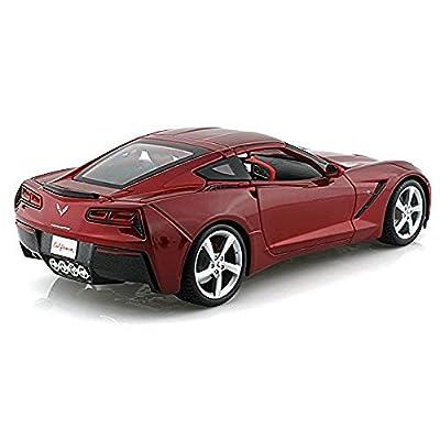 2014 C7 Chevy Corvette Stingray 1/18 Red by Maisto: Toys & Games