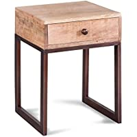 Brylanehome Ravi Side Table (Natural,0)
