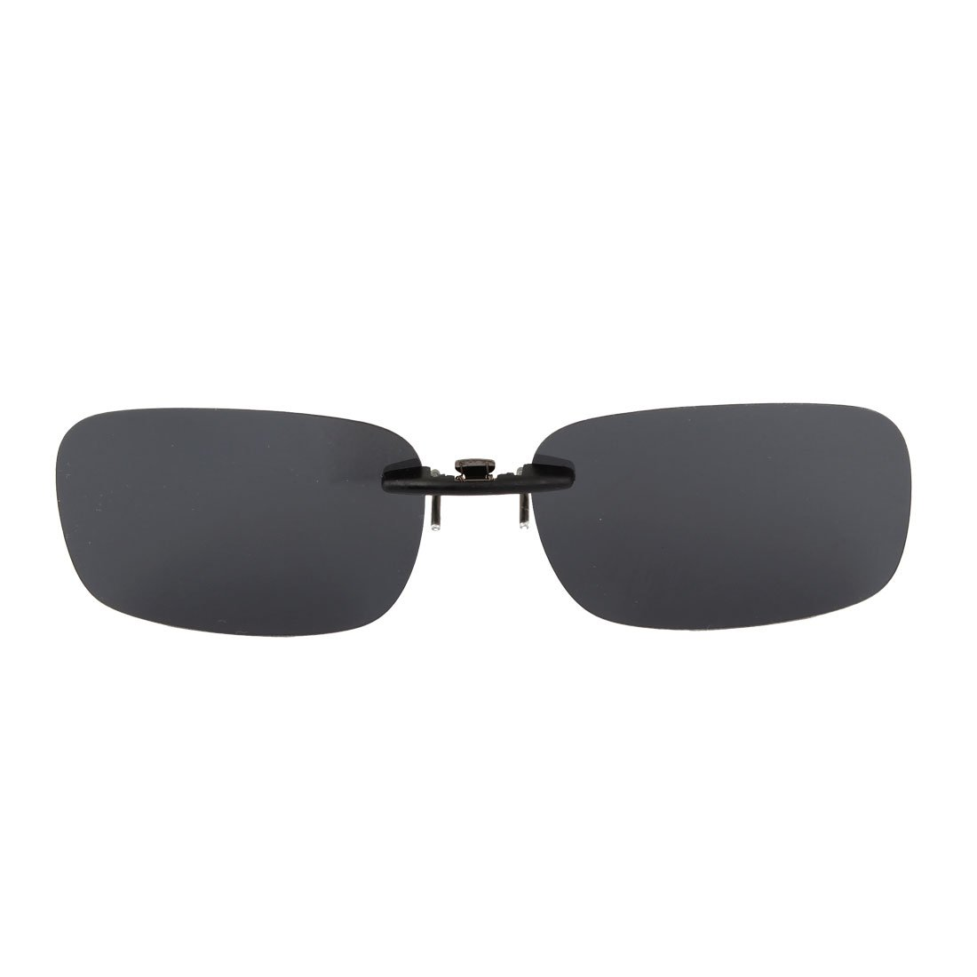 Gafas de sol Lentes unisexo gris plástico para pesca correr clip polarizado