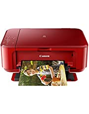 Canon MG3670 Pixma Wireless All-In-One Printer, Red
