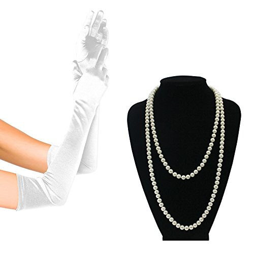 1920s Gatsby Flapper Costume Accessories 21