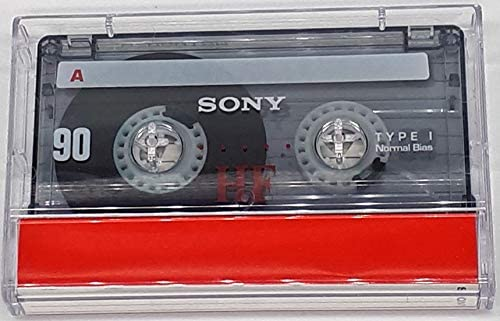3 Pack Sony C-90 HF Compact Cassette Tapes
