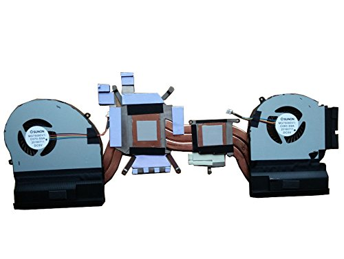 HK-part Replacement Fan for Dell Alienware 17 R4 ALW17C GTX 1080 0K2PKV Laptop Cpu Cooling Fan With Heatsink DP/N CN-0K2PKV