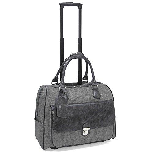 cabrelli-linda-linen-15-laptop-rollerbrief-charcoal-grey