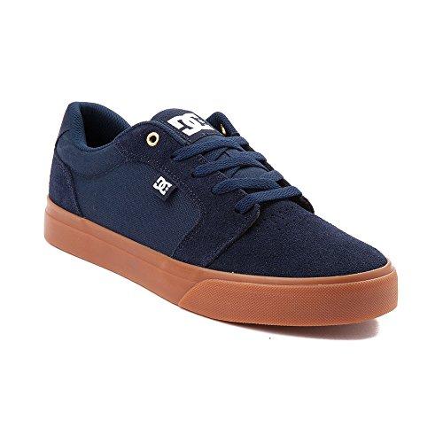 犠牲着替えるすでに(ディーシー) DC 靴?シューズ メンズスケートシューズ Mens DC Anvil Skate Shoe Navy ネイビー US 7 (25cm)