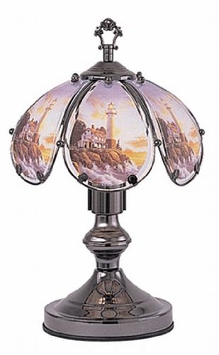 14 Inch Lighthouse Touch Lamp ()