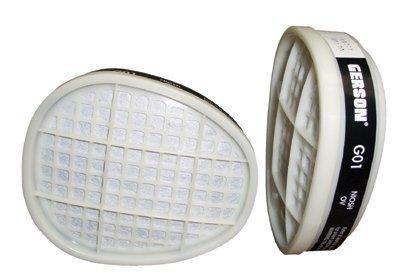 Gerson® - Respirator Cartridges Organic Vapor Replacemenc...
