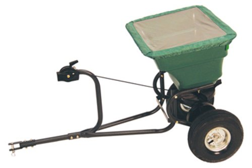 Precision Products 75-Pound Capacity Tow-Behind Semi-Commercial Broadcast Spreader TBS4000PRCGY by Precision Products