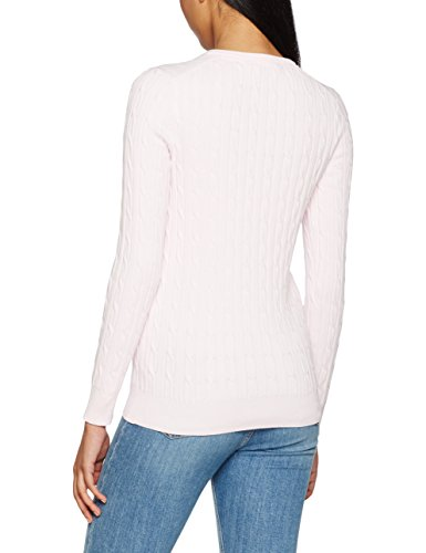 Crew Clothing Summer Cable, Suéter para Mujer Pink (Soft Classic Pink)