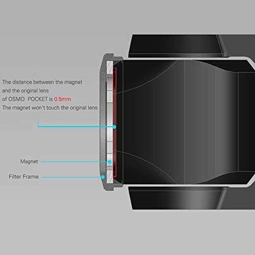 DJI OSMO POCKET ND8 KuGi NDレンズフィルター 減光フィルター レンズ保護 光学ガラス 専用 撮影 レンズ保護 広角レンズに適 多層加工 鮮明度 薄枠 撥水 防汚 撥油性 光量調節 ND8 DJI OSMO POCKET対応