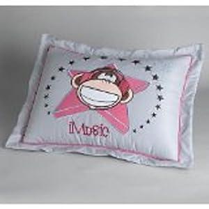Amazon Com Bobby Jack Imusic Standard Pillow Sham Home