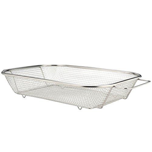 Cobble Creek Stainless Steel Vegetable Grill Basket