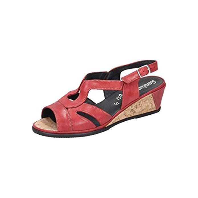 Damen-sandale Grösse 710869-4 Comfortabel 40 Rot