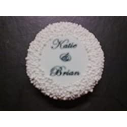 20 Personalized Chocolate Covered Oreo Wedding Favors (2 cookies per bag)