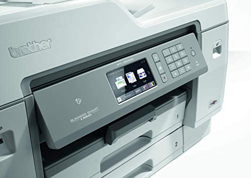 Brother MFC-J6945DW - Impresora multifunción de Tinta A3 (WiFi, fax, escáner, copiadora, dúplex automático) Color Gris: Brother: Amazon.es: Informática