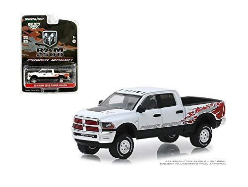 New DIECAST Toys CAR Greenlight 1:64 Hobby Exclusive - 2016 Dodge RAM 2500 Power Wagon 16 (White) 29982