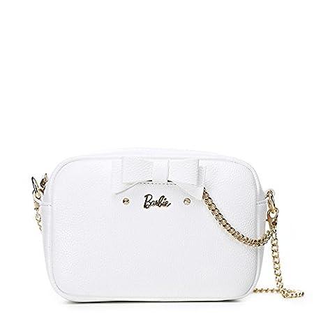 Barbie Princess Series Simple Fashion Bowknot Cross-body Bag&Shoulder Bag #BBFB319 (standard, beige)