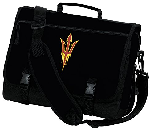 Broad Bay Arizona State Laptop Bag ASU Computer Bag or Messenger Bag by Broad Bay