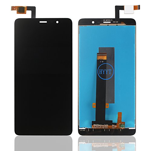 For XiaoMi Redmi Note 3 LCD Digitizer Screen Replacement HYYT LCD Display and Touch Screen Digitizer Glass Replacement with Full Assembly-Black (Redmi Note 3)