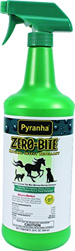 Pyranha Zero Bite All Natural Fly Spray, 32 Ounce
