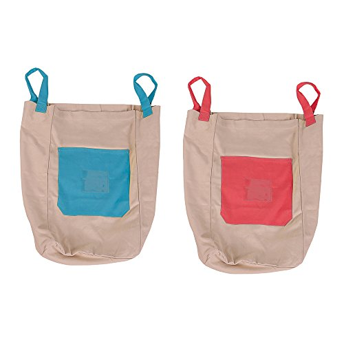 Pacific Play Tents Cotton Canvas Jumping Sacks - Set of 2 bags, 26