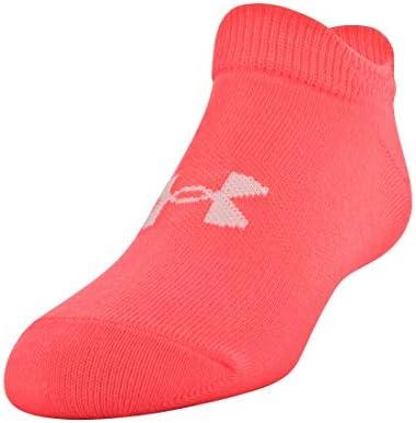 6 Pack Under Armour Womens Essential Twist No Show Socks
