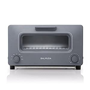 "BALMUDA Steam toaster oven""BALMUDA The Toaster"" K01E-GW (Gray)【Japan Domestic genuine products】"