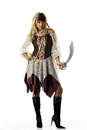 ESSA OAT clothes series Sexy South Seas Siren Pirate Halloween Costume Women -