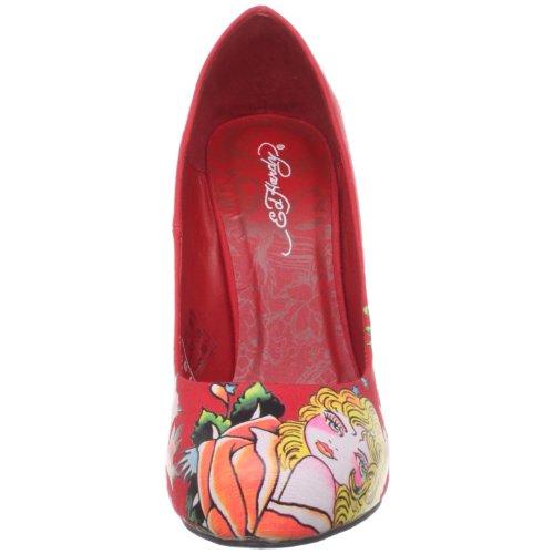 Ed. Sterke Vrouwen Haute Pump Red-11sha103w