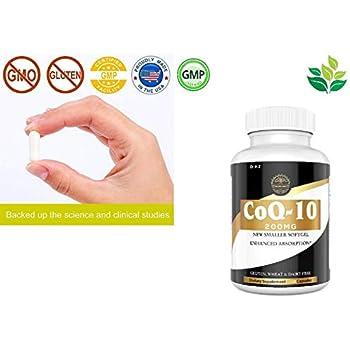 Amazon.com: Earths Wisdom CoQ10 Ubiquinone Supplement 200 ...