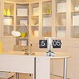 Sourcingbay Home Desk Digital Auto Flip Down Clock