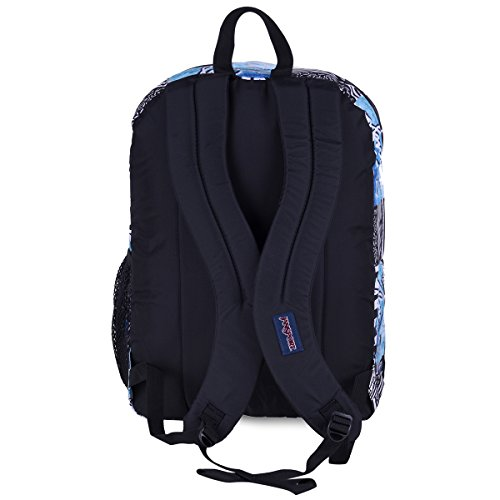 JanSport Unisex Big Student Multi Navy Connect Backpack Mehrfarbig (Multi South Swell)