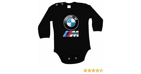 f73511f18 BMW Logo body de colour negro adaptador de encendedor de coche y body de  manga larga