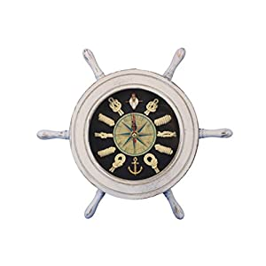 41SsOwyC0qL._SS300_ Best Ship Wheel Clocks