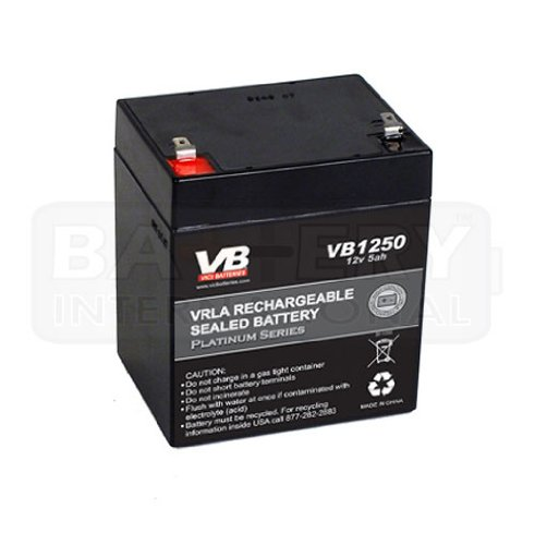 VICI Battery Replacement Battery for Liftmaster 485LM Battery and 41A6357-1 battery-works with Liftmaster 3850, 3850P and HD900D VICI Brand (Intellisense Lithium Battery For Powerheart Aed G3 Pro)