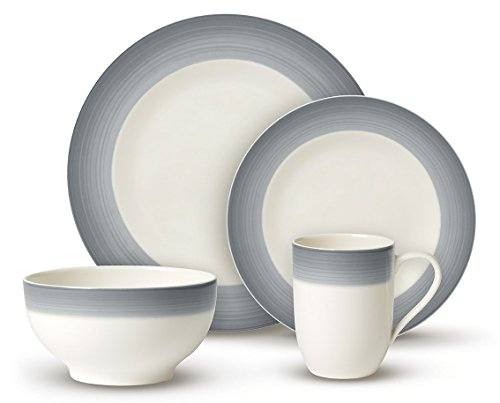 Villeroy & Boch Colorful Life Dinner Set, Cozy Grey