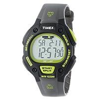 Timex - T5K692 Ironman Classic 30 correa de resina gris /negra /verde de tamaño completo para hombres