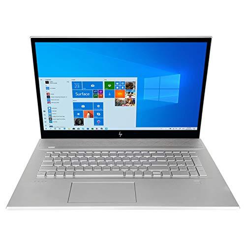 HP Envy 17t FHD Touchscreen Laptop + TEKi Wireless Mouse (Bundle) - 11th Gen Intel Core i7-1165G7 up to 4.70 GHz CPU, 32GB RAM, 4TB SSD, Intel Iris Xe Graphics, DVD+/-RW, Windows 10 Pro