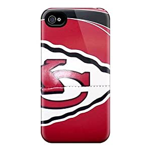 Anti-Scratch Hard Phone Cases For Iphone 6plus (ulV12044kHDw) Allow Personal Design HD Kansas City Chiefs Pattern