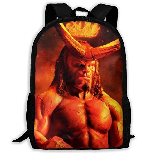 H-ellboy Backpack College School Laptop Bag Daypack Travel Shoulder Bag For Unisex