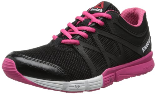 Reebok Women's Reebok Herpower Cross-Training Shoe,Black/Pink Fusion/White,5 M US