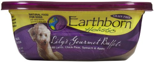 Earthborn Holistic Natural Moist Food For Dogs Grain Free Lily's Gourmet Buffet in Sauce -- 9 oz