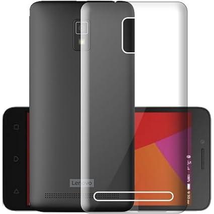 Ecellstreet Lenovo A6600 Plus Transparent Soft Back Cover