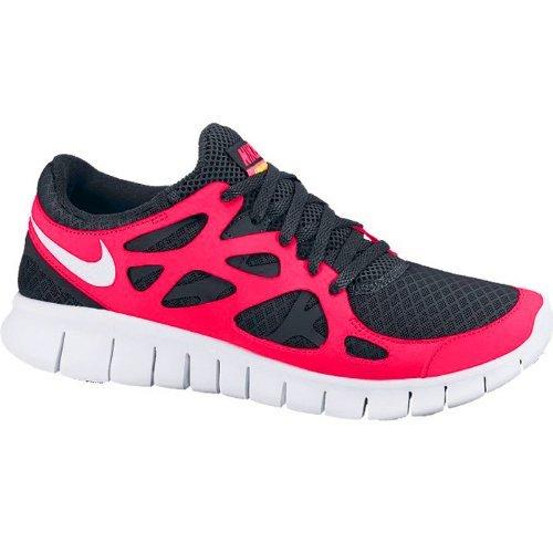 Nike da donna free run + 2/443816–019colore: Black/White–Cherry