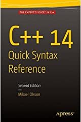 C++ 14 Quick Syntax Reference: Second Edition