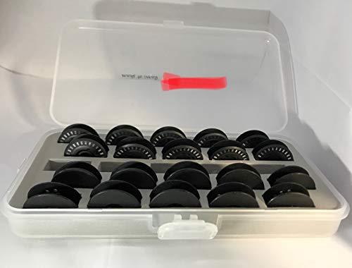 Sew-link New 8 Series Jumbo Bobbin Storage Case with 20pcs Bobbin for Bernina 8 Series