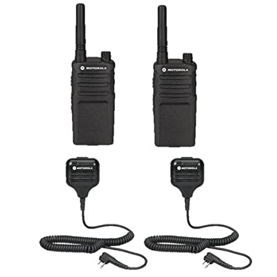 2 Pack Motorola RMU2040 Radios with Speaker Mics: Car Electronics