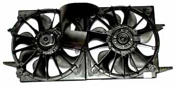 (TYC 620090 Pontiac/Chevrolet Replacement Radiator/Condenser Cooling Fan Assembly)
